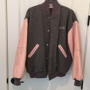 Hard Rock Cafe Jacket - Leather & Wool - New York